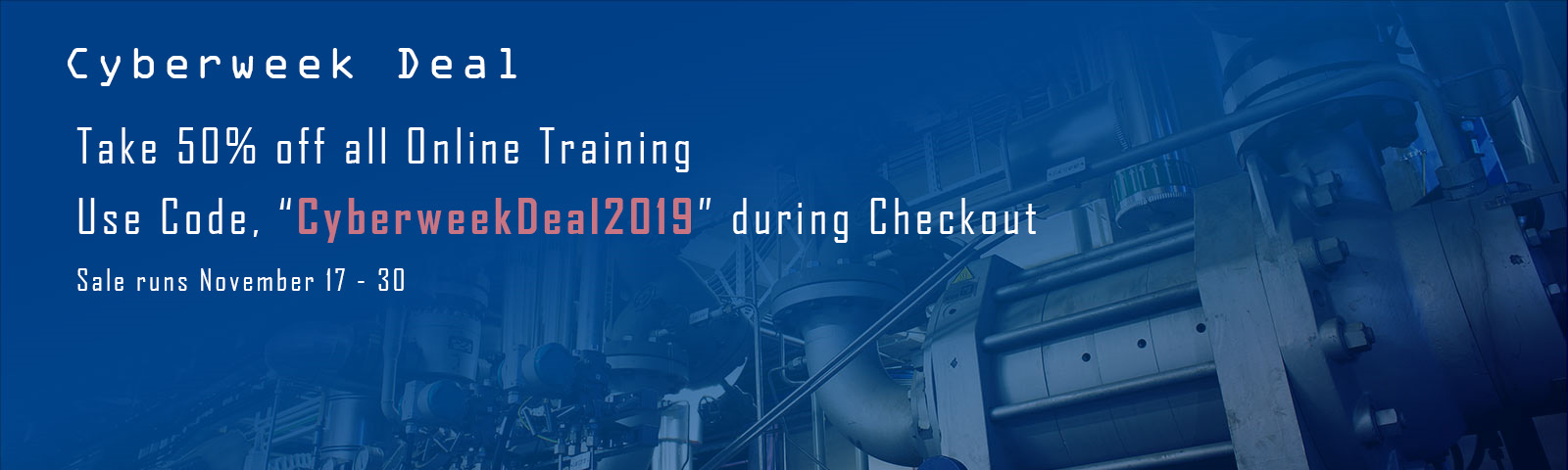 2019 Cyberweek Deal | <a  data-cke-saved-href='https://learning.cccglobal.com/ProductSubCats.aspx?SubCatID=23' href='https://learning.cccglobal.com/ProductSubCats.aspx?SubCatID=23'>Register Now</a>